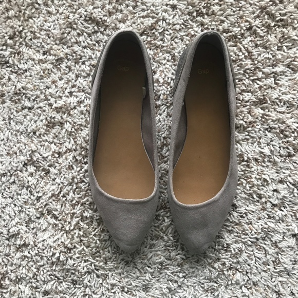 GAP Shoes - Gap Suede Pointed Flats